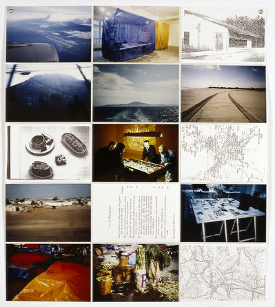 Rirkrit Tiravanija, 'Atlas I', 1995