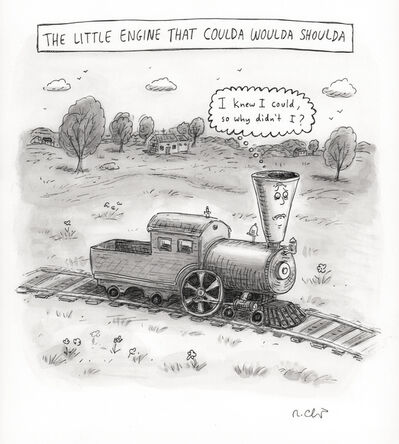 Roz Chast, 'The Little Engine That Coulda', 2014