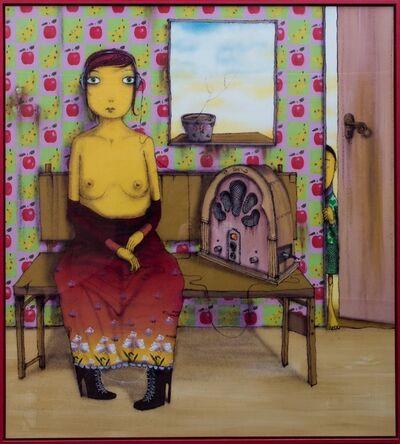 OSGEMEOS, 'La Mujer que escucha la Radio Desnuda', 2008