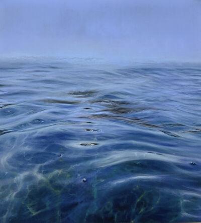 Elena Degenhardt, 'An ego dissolved in blue over the landscape', 2020