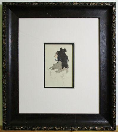 Jacques Villon, 'Woman', ca. 1930-40
