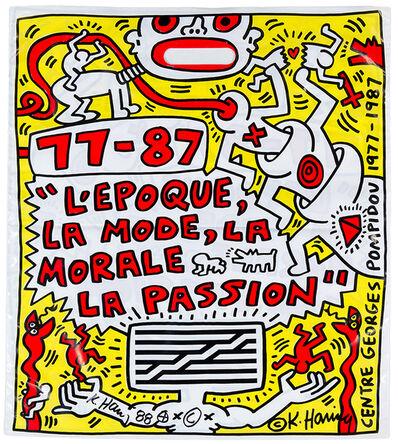 Keith Haring, 'L'Epoque, la Mode, la Morale, la Passion', 1987