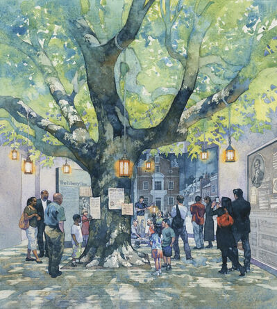 Greg Harlin, 'The Liberty Tree', 20th Century