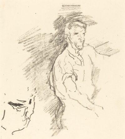James Abbott McNeill Whistler, 'Sketch of a Blacksmith', 1895