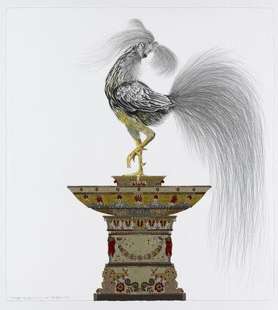 Raqib Shaw, 'Whimsy Beasties...Cock-A-Luki', 2012