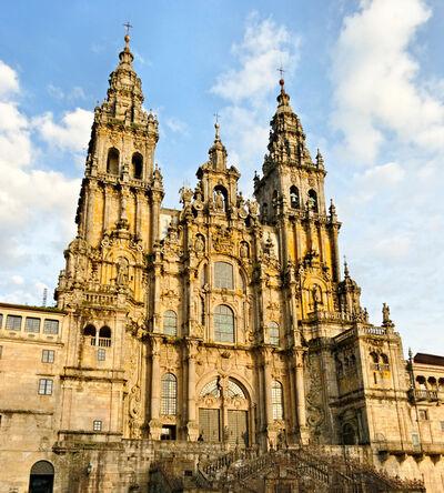 'Cathedral of Saint James, Santiago de Compostela', 11th, 12th, 17th, 18th century
