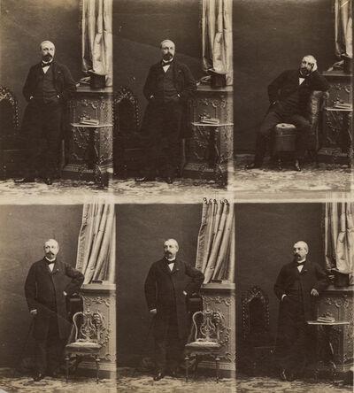 André Adolphe-Eugené Disdéri, 'Jean-Baptiste Henri Durand-Brager, Photographer, Marine Painter and Printmaker', 1861/1861