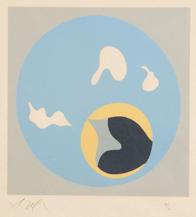 Hans Arp, 'Untitled from Le Soleil Recerclé', 1962/65