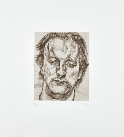 Lucian Freud, 'Head of a Man', 1986-87