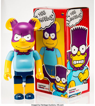 BE@RBRICK X The Simpsons, 'Bartman 1000%', 2017