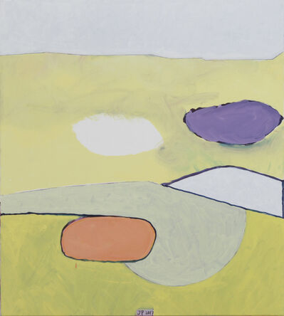 Jürgen Partenheimer, 'Un'ala interminabile. 100 Poets #32, Giuseppe Ungaretti', 2017