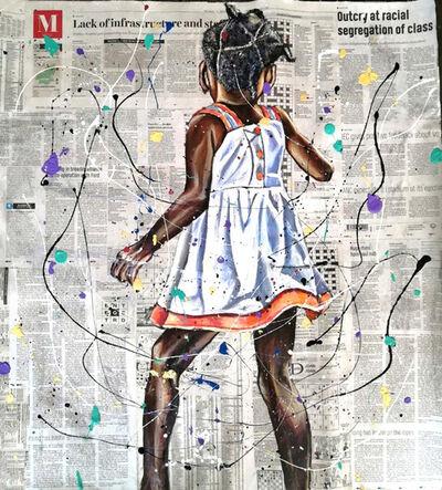 Andrew Ntshabele, 'Unspeakable joy III', 2020
