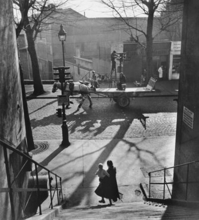 Willy Ronis, 'Avenue Simon Bolivar', 1950
