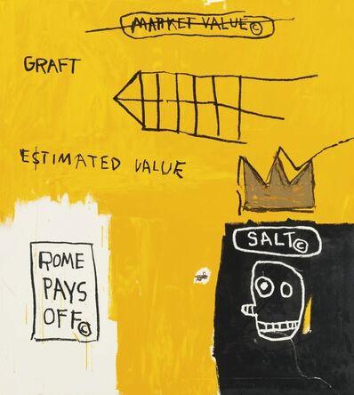 Jean-Michel Basquiat, 'Rome Pays Off', 2004