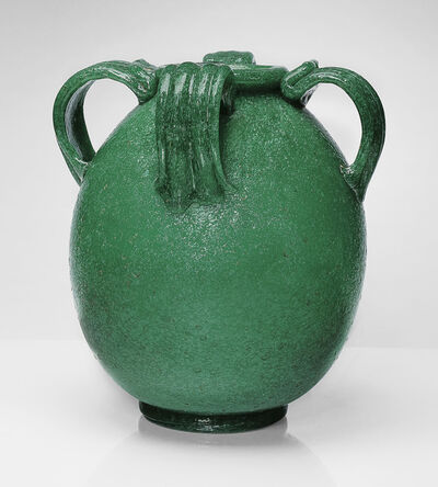 Napoleone Martinuzzi, 'A Rare 'Pulegoso' Vase, model no 3120', circa 1930
