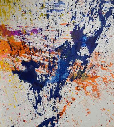 Shozo Shimamoto, 'Untitled-131', 2011