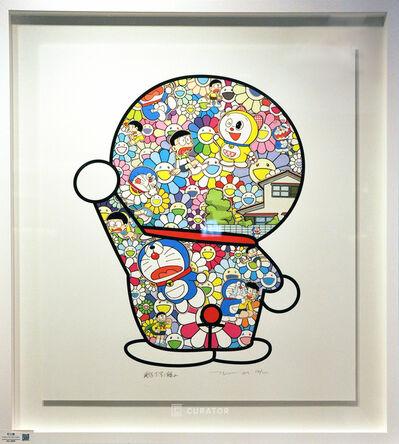 Takashi Murakami, 'Doraemon in the Field of Flowers ', 2019