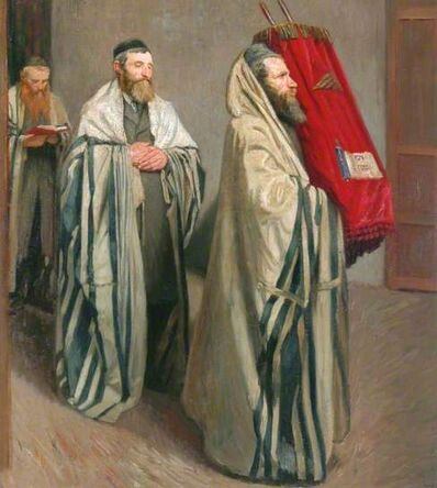 William Rothenstein, 'Carrying the Law ', 1907