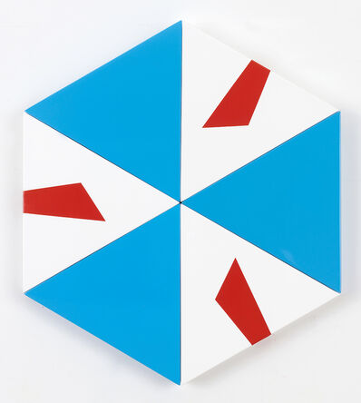 Pouran Jinchi, 'A as Alpha Hexagon', 2017