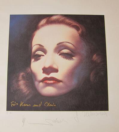 Gottfried Helnwein, 'Marlene Dietrich', 1990