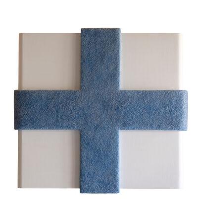 Catharina van de Ven, 'Cross Blue', 2020