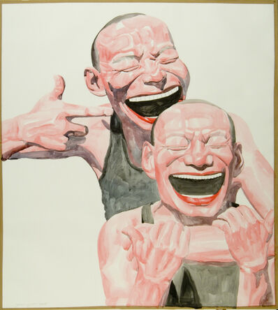 Yue Minjun, 'Untitled (Smile-ism No. 14)', 2006