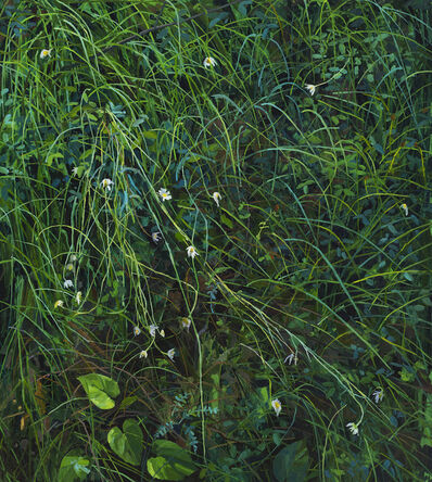 Claire Sherman, 'Wildflowers and Grass', 2020