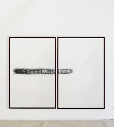 Suso Fandiño, 'birth, school, work, death', 2014