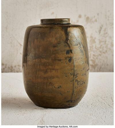 Jean-Joseph Carriès, '35Moss Vase', 1890