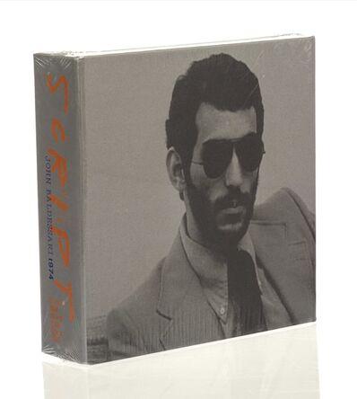 John Baldessari, 'Script (1974) Special Edition DVD Box', 2011