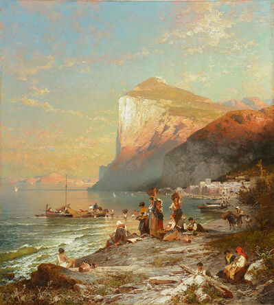 Franz Richard Unterberger, 'Capri', 1878