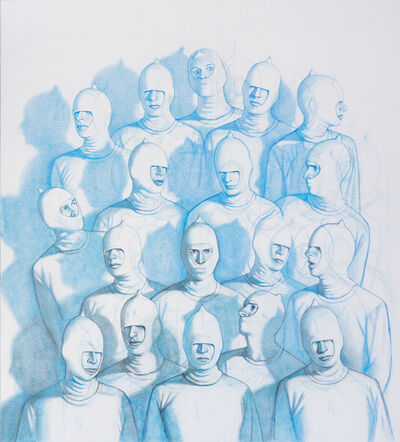 Vonn Cummings Sumner, 'Crowd (Drawing)', 2016
