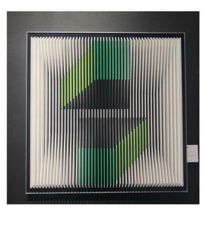 J. Margulis, 'Expanded Horizon V (Green)', 2019