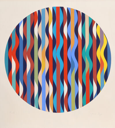 Yaacov Agam, 'Waves', ca. 1980