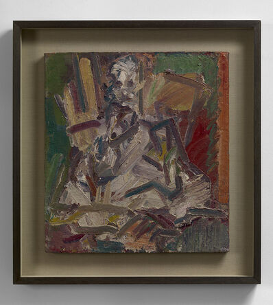 Frank Auerbach, 'David Landau Seated', 2011-2012