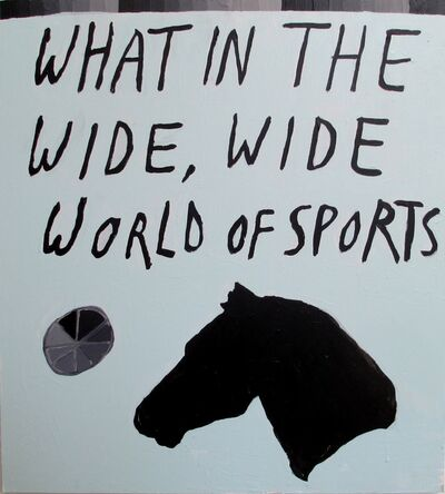 Polly Shindler, 'What in the Wide, Wide World of Sports', 2015
