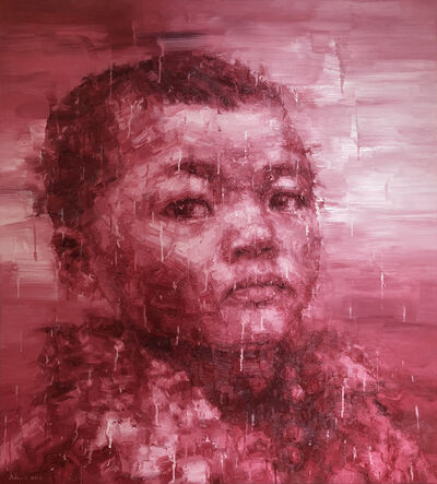Adam Chang, 'Tibetan Boy in Red', 2017