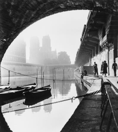 Thurston Hopkins, 'Paris Canal', 1950