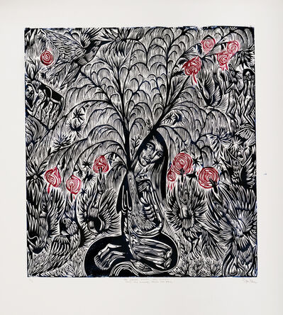 John Abell, 'The Woman Feeds the Willow, Feeds the Flowers, Feeds the Birds', 2019