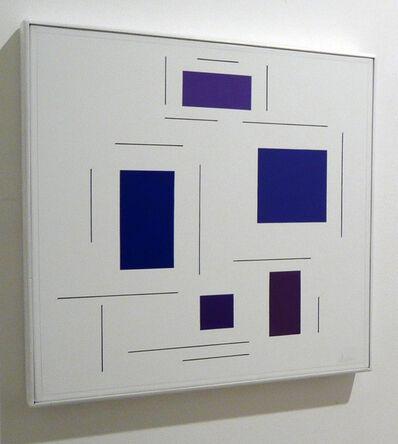 Geneviève Claisse, 'Dépendance de saveur bleu', 2004