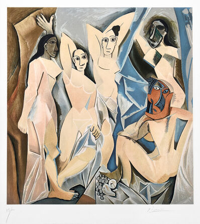 Pablo Picasso, 'Les Demoiselles d'Avignon (The Young Ladies of Avignon)', 1955