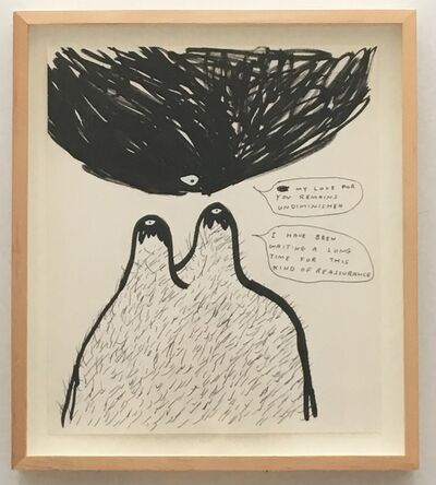 David Shrigley, 'My love for you remains', 1998