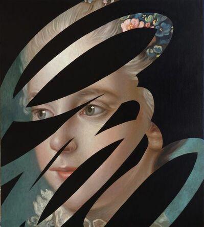 Lino Lago, 'Fake Absrtract Black', 2019