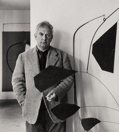 Arnold Newman, 'Three Portraits of Alexander Calder'