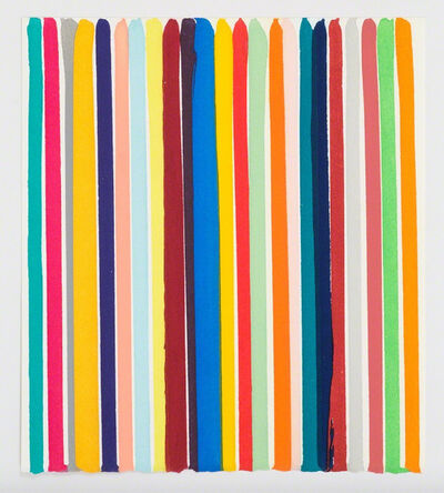 Ian Davenport, 'Chromology Etching', 2014