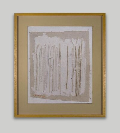 Adja Yunkers, 'String Drawing #6', 1981