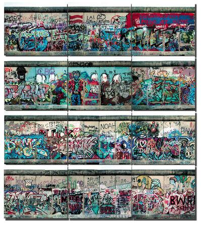 Michel Hosszu, 'MUR DE BERLIN – 00', 1990