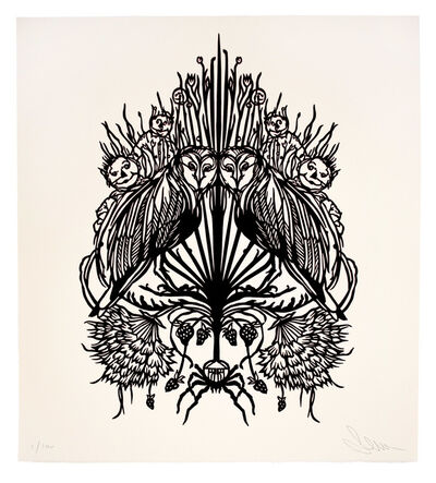Swoon, 'Owls', 2018