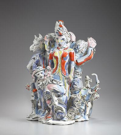 Viola Frey, 'Untitled (U) Mask of Tragedy', 1995