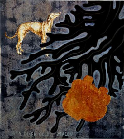 """Jörg Immendorff, '""""Aus Eisen Gold malen""""', 2004"""